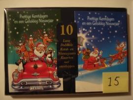 10 Marant Kerstkaarten nummer 15