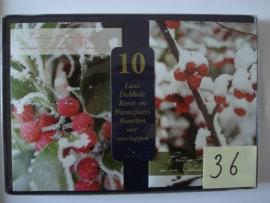 10 Marant Kerstkaarten nummer 36
