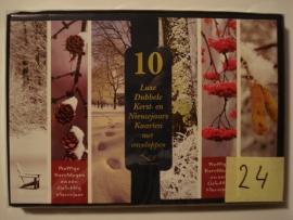 10 Marant Kerstkaarten nummer 24