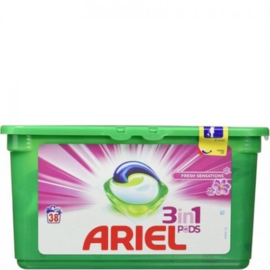 Ariel 3 in 1 Pods – Fresh Sensations 38st