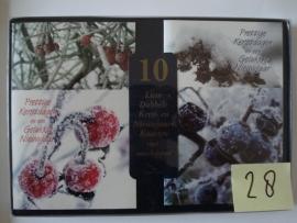 10 Marant Kerstkaarten nummer 28