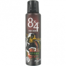 8 x 4 Deospray Men 150ml – Urban Spirit