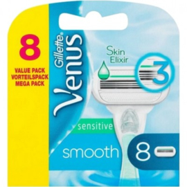 Gillette Venus Smooth Sensitive 8mesjes