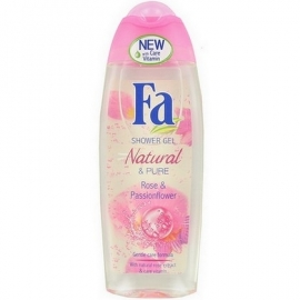 Fa Douchegel Natural Rose & Passionflower 250ml