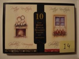 10 Marant Kerstkaarten nummer 14