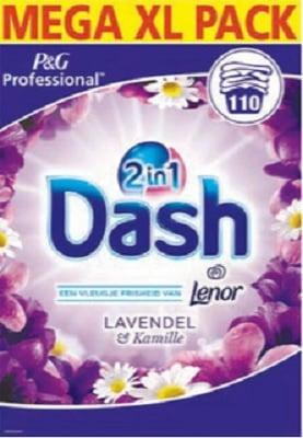 Dash 2 in 1 Lavendel & Kamille 7.15 KG 110 scoops