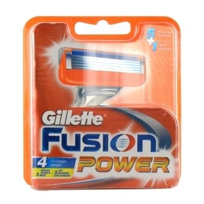 Gillette Fusion Power ( 4 mesjes )