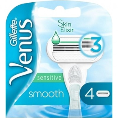 Gillette Venus Smooth Sensitive 4mesjes