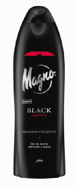Magno Douchegel Black Energy 550ml