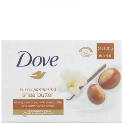 Dove Zeep Shea Butter 2x100gr