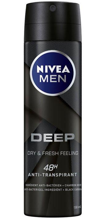 Nivea Men Deep 150ml Dry&Fresh Feeling