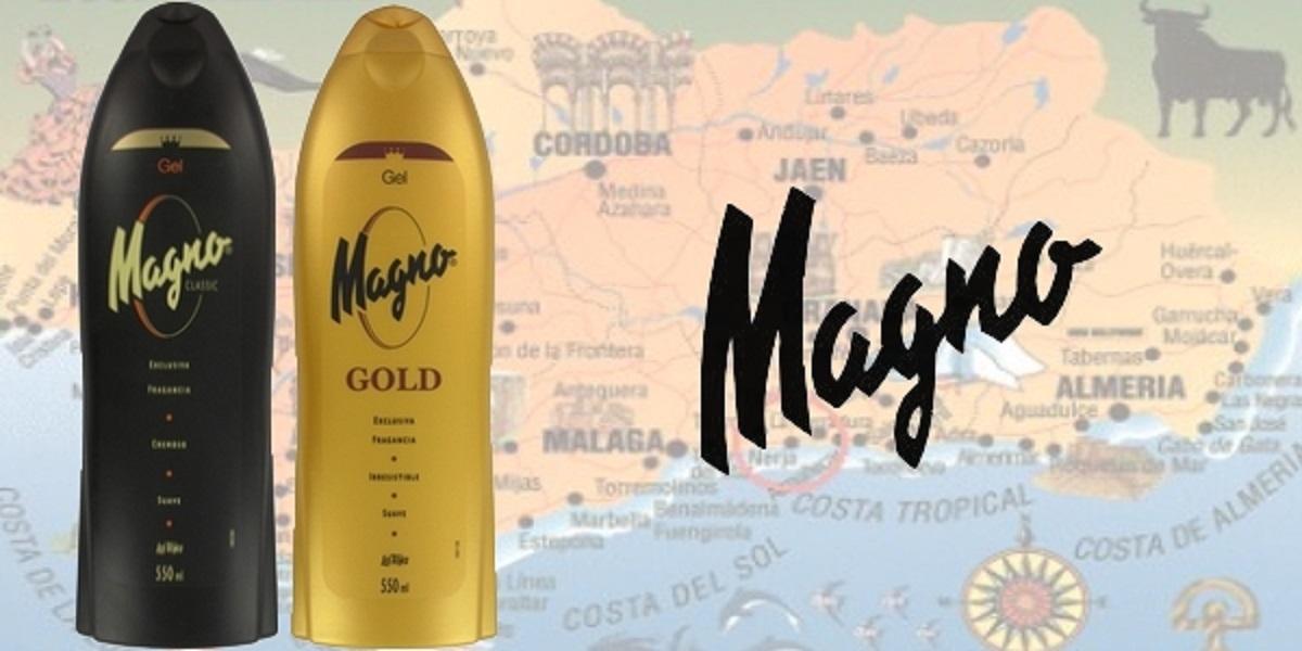 Magno douche, deodorant, zeep, Spanje