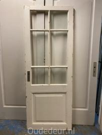 nr. 2368B antieke glas deur