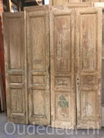 nr. set702 vier sets oude deuren