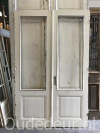 nr. set969 set antieke glasdeuren