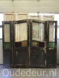 nr. set760 vierslag antieke deuren met glas