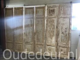 nr. set817 serie  gelijke sets oude deuren