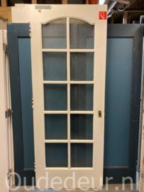 nr. 1115 hoge oude ruitjes deur