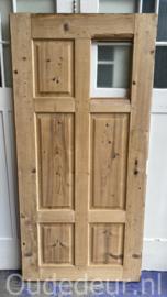nr. 1529 oude deur met glas vak