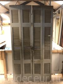 nr. L371 set van vier oude louvre deuren