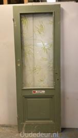 nr. 228O antiek deur met eeen ruit