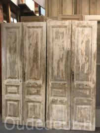 nr. set700 3 gelijek sets oude deuren