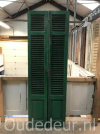 nr. L544 2x brede louvre deur