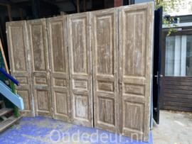 nr. set624 vier gelijke set s antieke deuren