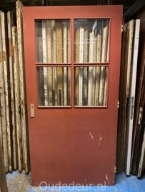nr. 1418 brede deur 4 ruiten