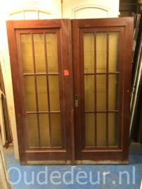nr. set819 stel jr 30 deuren met glas