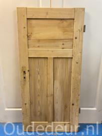 nr. 1286 antieke geloogde deur