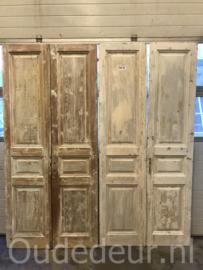 nr. set703 zes gelijke sets oude deuren