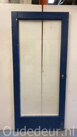 nr. 2419 eenvoudige glasdeur 93x211