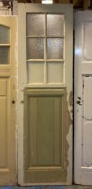 nr. 238 antieke paneeldeur met 6 ruiten
