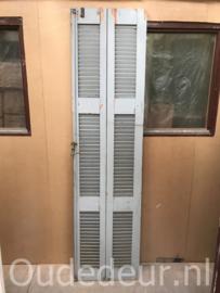 nr. L533 twee louvre deuren