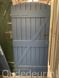 nr. 4511B afgeronde opgeklampte deur