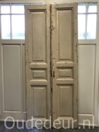 nr. set665 set oude deuren wit