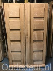 nr. set839 stel lage deuren geloogd