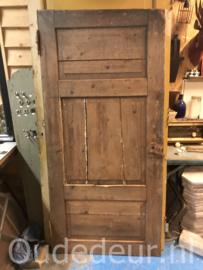 nr. 1387 antieke bruine deur