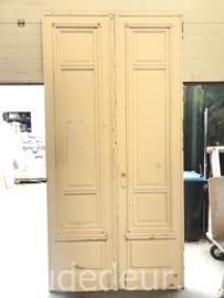nr. set959 stel dubbele hoge  antieke deuren