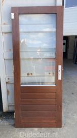 nr. A201 buitendeur enkel glas