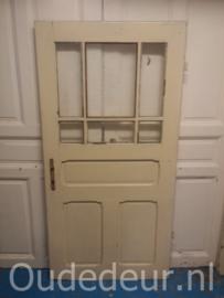 nr. 1322 oude deur met zes ruiten
