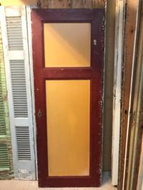 nr. 4005 oude deur met 2 panelen