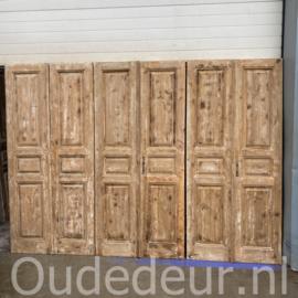 nr. set489 4 gelijke sets antieke deuren