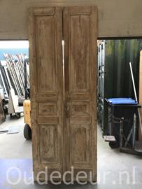 nr. set982 set oude deuren white wash