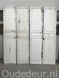 nr. set796 setje van 2 antieke hoge deuren