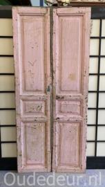 nr. set599 setje oude deuren