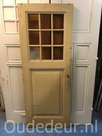 nr. 1266 antieke deur met 9 ruiten