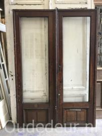 nr. set 972 setje zware glas deuren