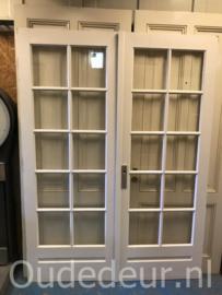 nr. set622  jaren dertig bruynzeel deuren